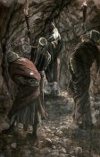 James Tissot - Chasm In The Rock of Calvary