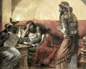 James Tissot - Chronicles Are Read To Ahasuerus