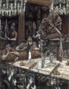 James Tissot - Daughter of Herodias Dancing