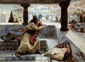 James Tissot - David Sees Bath-Sheba Bathing