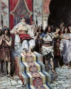 James Tissot - David Sees The Messenger Arrive