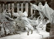 James Tissot - Dead Appear at The Temple