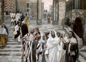 James Tissot - Disciples Admire The Buildings of The Temple