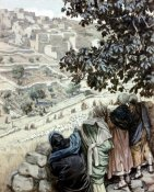 James Tissot - Disciples Pluck Corn On The Sabbath