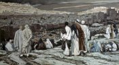 James Tissot - Disciples Watch From Afar