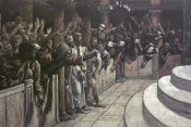 James Tissot - False Witness Before Caiaphas