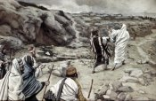 James Tissot - Get Thee Behind Me, Satan