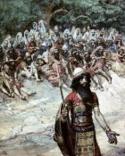 James Tissot - Gideon Asks For Bread From The Men of Succoth