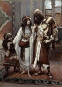 James Tissot - Harlot of Jericho and The Two Spies