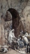 James Tissot - He Laid His Hands Upon the Sick