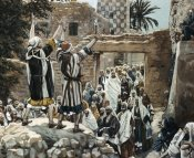 James Tissot - Healing of The Two Blind Men at Jericho