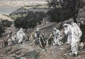 James Tissot - Jesus Healing The Lame & The Blind