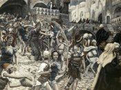 James Tissot - Jesus Led From Caiaphas