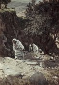 James Tissot - Jesus On His Way To Ephraim