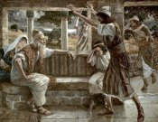 James Tissot - Job Hears Bad Tidings