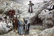James Tissot - John The Baptist and The Pharisees