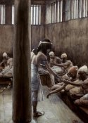 James Tissot - Joseph Distributes Bread In Prison