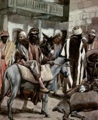 James Tissot - Joseph Sends His Brethren Away With Full Sacks