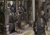 James Tissot - Judas Goes To The High Priests