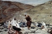 James Tissot - Lawyer Standing Up and Tempting Jesus