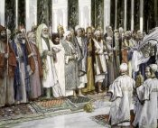 James Tissot - Legend of The Tests of Suitors of The Holy Virgin