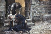 James Tissot - Levite Findeth His Dead Wife