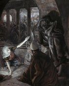 James Tissot - Lord Looked Upon Peter