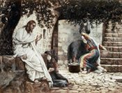 James Tissot - Magdalene at The Feet of Jesus