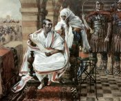 James Tissot - Message From Pilate's Wife