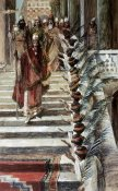 James Tissot - Mordecai's Honour