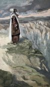 James Tissot - Moses On The Mountain During The Battle