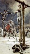 James Tissot - One of The Soldiers With a Spear Pierces His Side