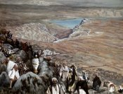 James Tissot - People Seek Christ To Make Him King