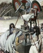 James Tissot - Pharaoh and The Midwives
