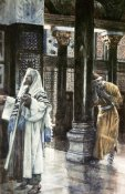 James Tissot - Pharisee and The Publican