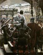 James Tissot - Pilate Washes His Hands