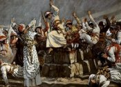 James Tissot - Prophets of Baal Leap Upon The Alter