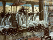 James Tissot - Queen of Sheba Visits Solomon