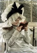James Tissot - Reading a Book