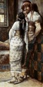 James Tissot - Samson and His Wife