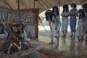James Tissot - Sarah (Sarai) Is Taken To Pharaoh's Palace