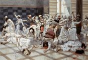 James Tissot - Saul Commands Doeg To Slay The Priests