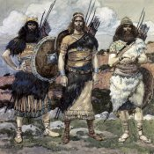 James Tissot - Three of David's Captains