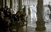 James Tissot - Woe Unto You Scribes & Pharisees