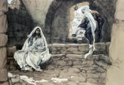 James Tissot - Woman of Samaria at The Well