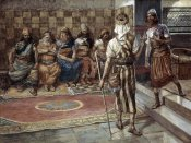 James Tissot - Young Prophet Before The Council