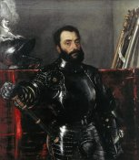 Titian - Portrait of Francesco Maria Della Rovere, Duke of Urbino