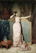 Auguste Toulmouche - Admiring Herself