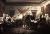 John Trumbull - Signing of The Declaration of Independence, 1817-1819