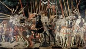 Paolo Uccello - Battle of San Romano: The Counter Attack of Michelotto Da Contignola